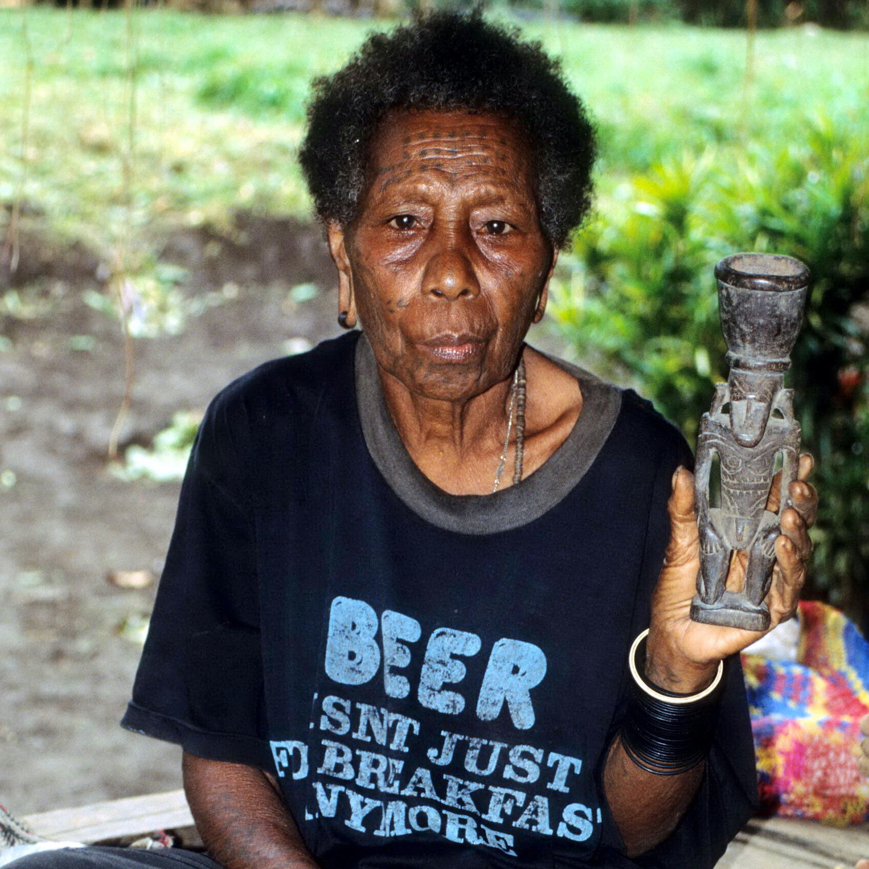 Beer and Betel Mortar, New Guinea Art, Oceanic Art, Tribal Art, South Pacific Art