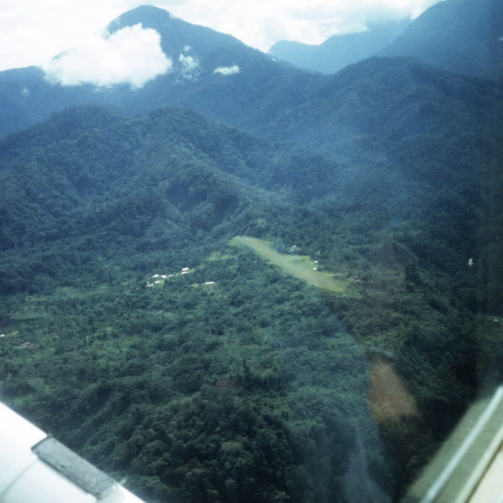 Remote New Guinea From The Air, Field Collecting New Guinea Oceanic Art