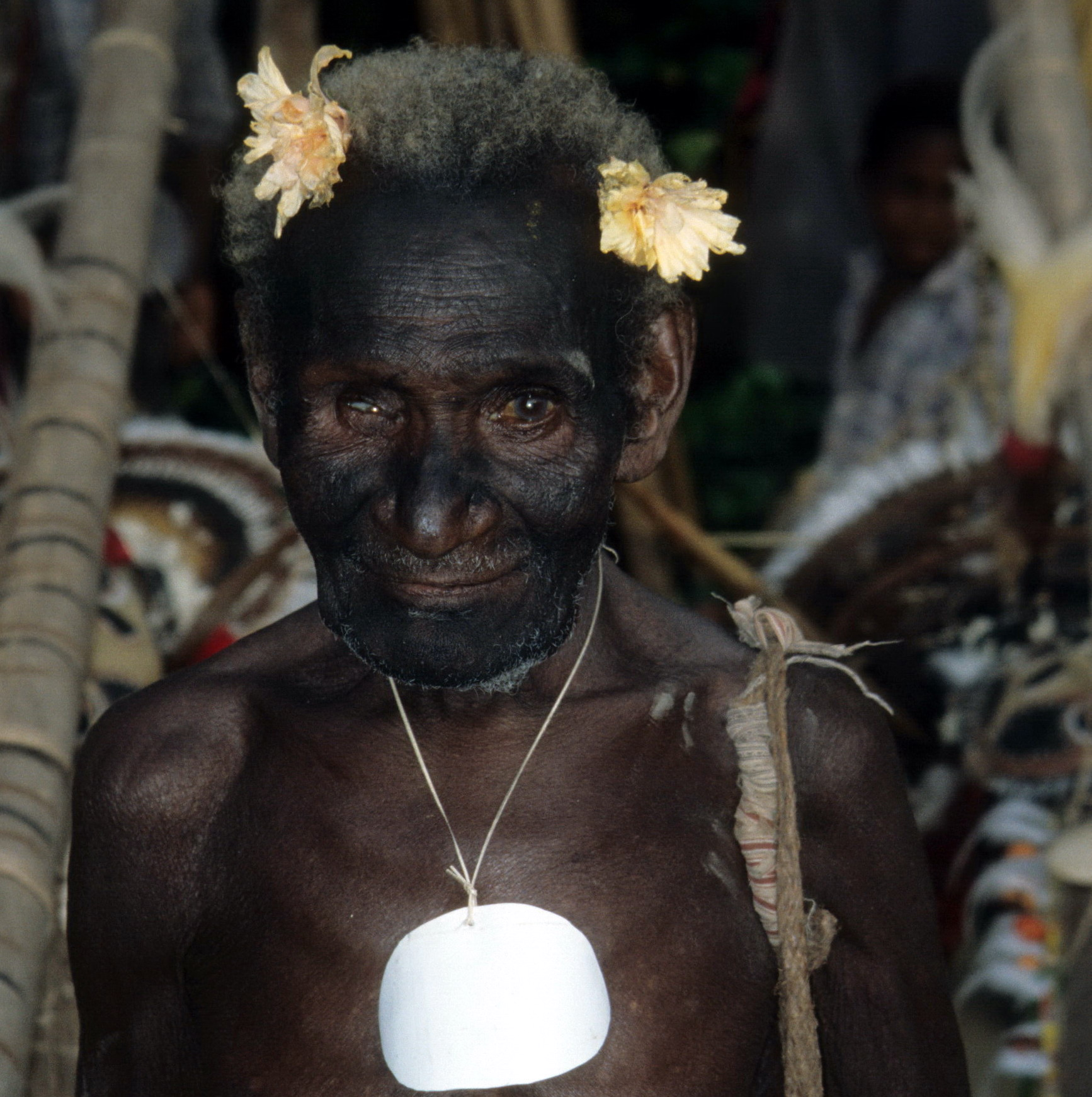 Abelam Man Dressed for Ceremony, New Guinea Art in Context