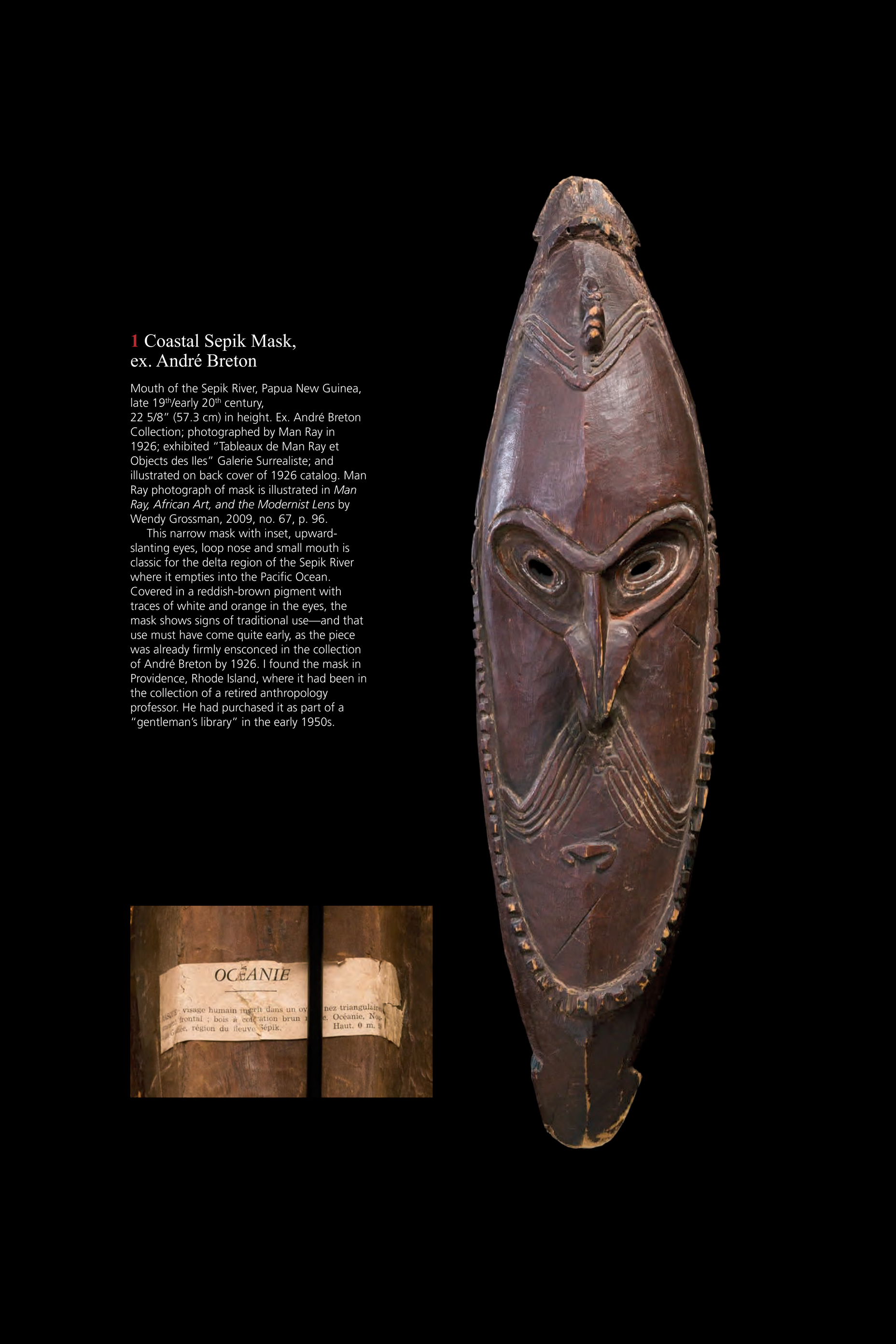 Oceanic Art Paris 2013 New Guinea & Polynesian Art
