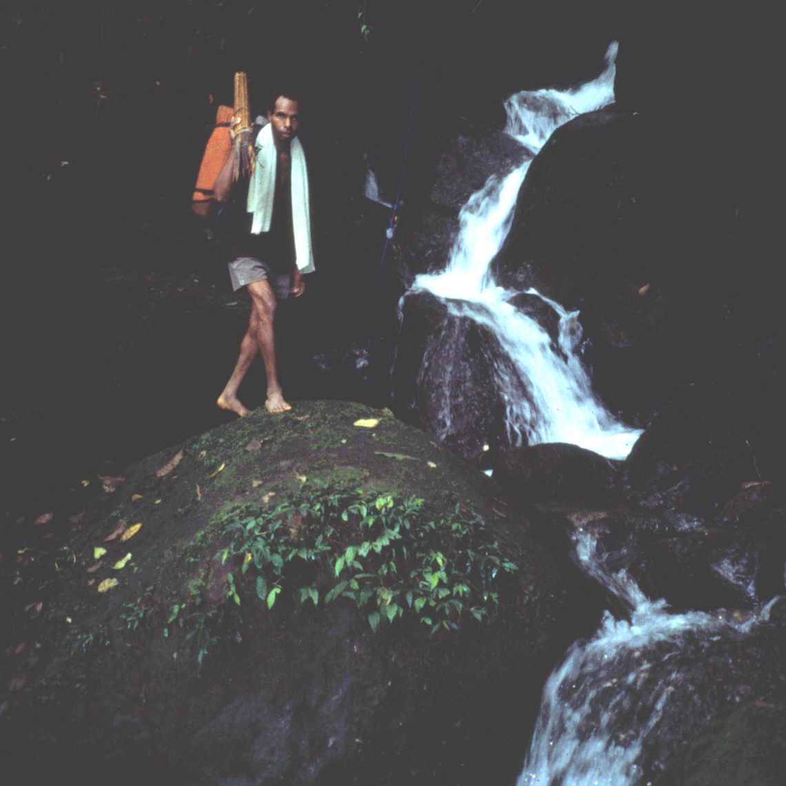 Raymond Kuaru On Boulder Descending Stream, On the Hunt for New Guinea Art
