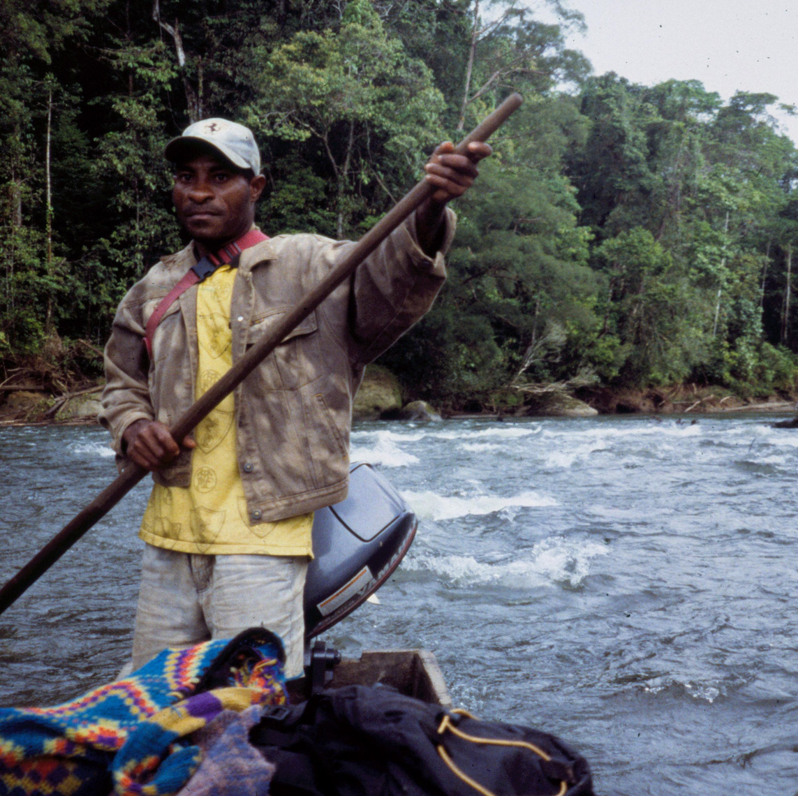 Up the Karawari River Rapids Looking for Masterpieces of New Guinea Tribal Art