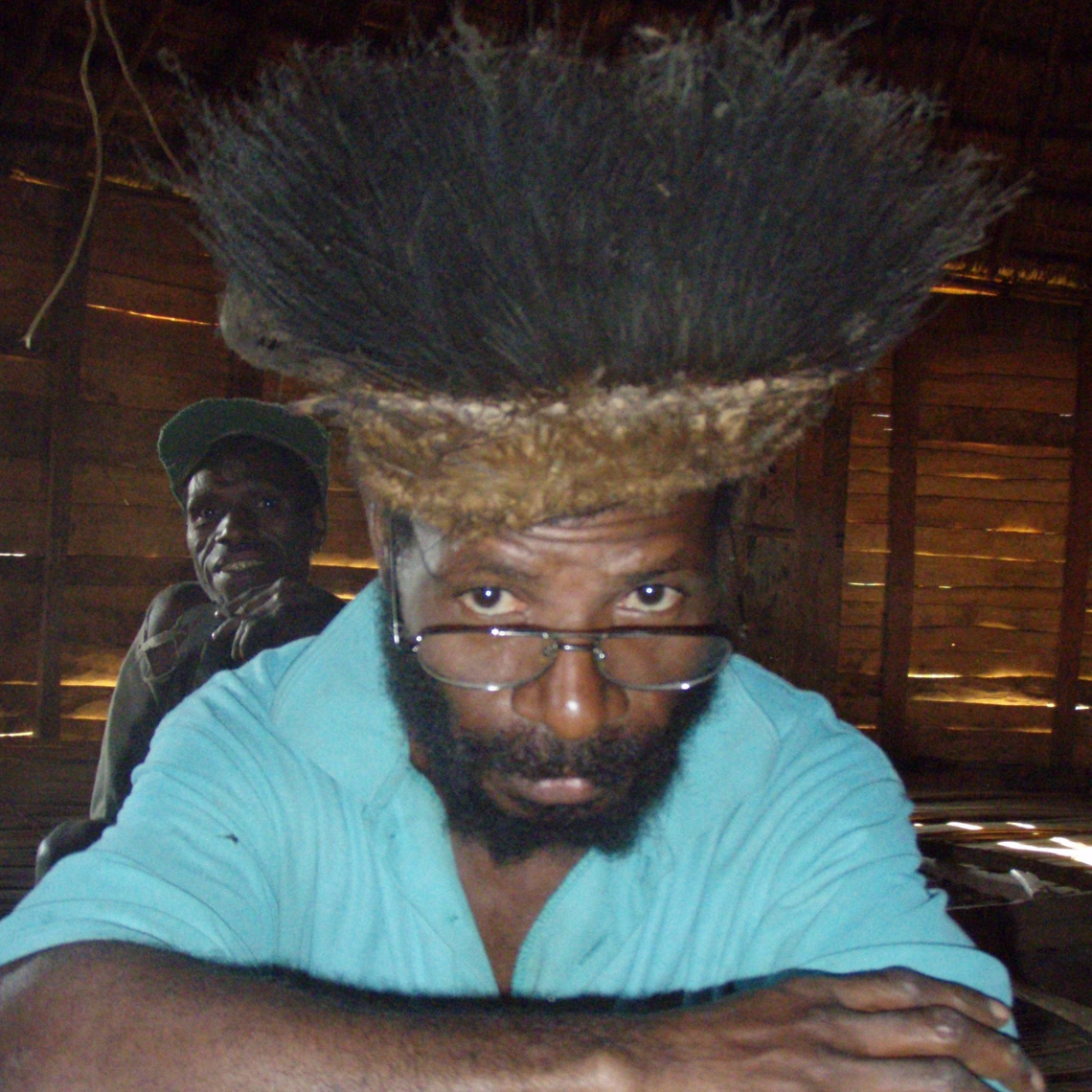 Godfried, Cassowary Feather Hat, New Guinea Art in Context